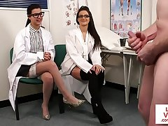 Gorgeous spex nurses discreditable patient