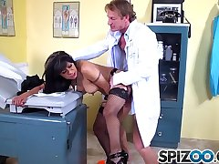 Spizoo - Big boorty Gabby Quinteros is punished apart from a big dick, big boobs
