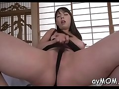 Slim mother i'_d like to fuck likes riding cocks