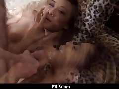 Horny friend wants to have a passion with stepsiblings