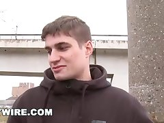 GAYWIRE - Getting Anal From A Dude On The Rooftop Out In Public!