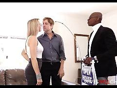 Hot Blonde Wife Zoey Monroe Caught Cheating With Treacherous Guy Cuckold