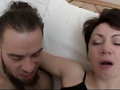 Sexy milf screwed by a young boy