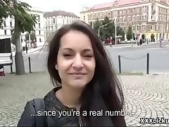 Teen Amateur Euo Babe Fucked Off out of one's mind Horny Tourist For Euros 20