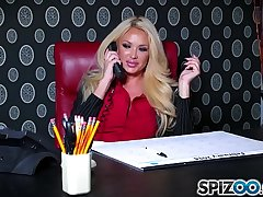 Spizoo - Bombshell Summer Brielle is punished by a huge cock, big booty