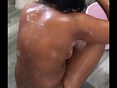bhabhi bathing nude seduce boobs legs butts mms lick