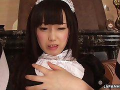 Maid'_s wet pussy started to act up once again