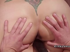 Prexy slave anal fisted and fucked